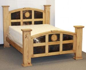 Cowhide-Bed
