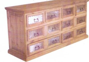 Cowhide-Dresser