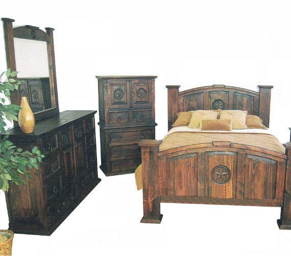Mansion Bedroom Set Dark