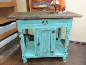 Turquoise_Kitchen_Island