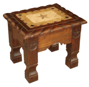 06-002END-Marble-End-Table