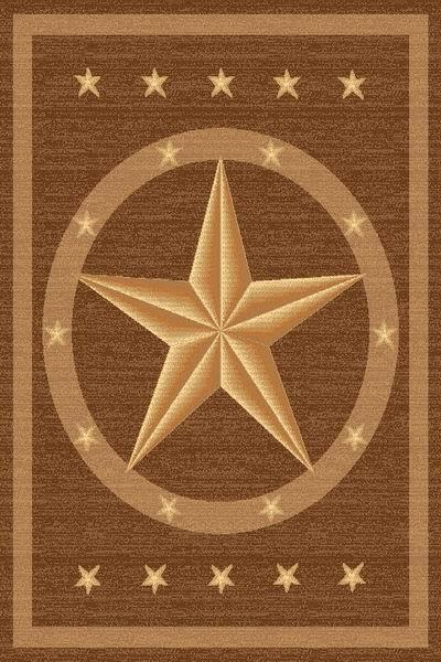 Camel_Brown_Western_Star_Rug
