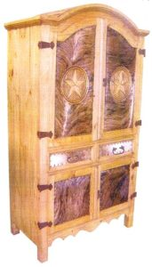 Cowhide-Armoire