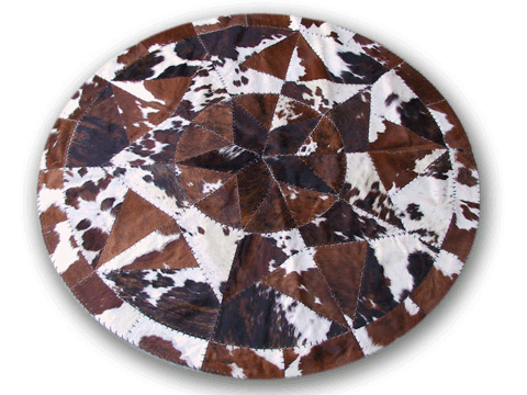 Cowhide_Rug_Spotted_Round_80Inch