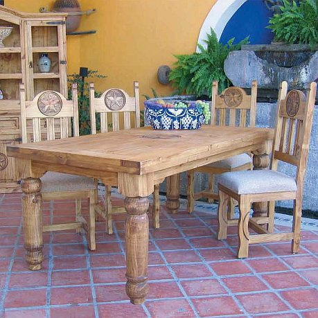 Six Foot 5 Piece Dining Set Rick S