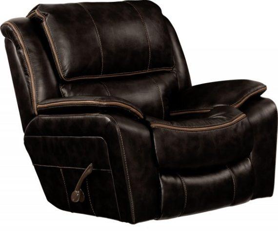 451 beckett black recliner
