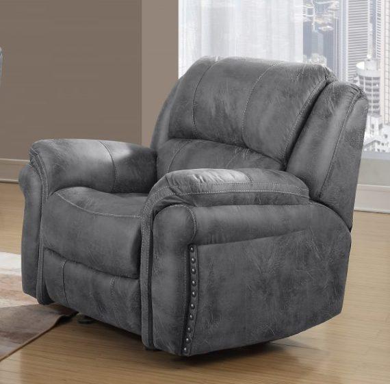 u0903 charcoal recliner