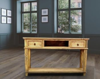 Lt Cid 153 Natural Table W Drawers