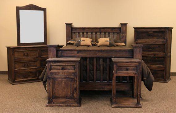 LMT Mission Bedroom Set