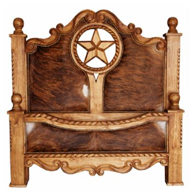 cowhide rope and star frame